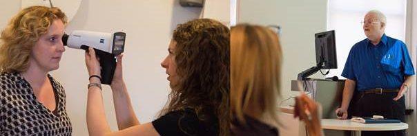 OFN workshop Fundus, FAG en ICG fotografie